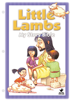 Little Lambs Take-Home Story Cards