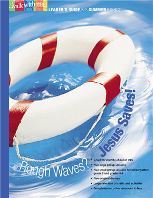Rough Waves? Jesus Saves! (Summer Book 2)