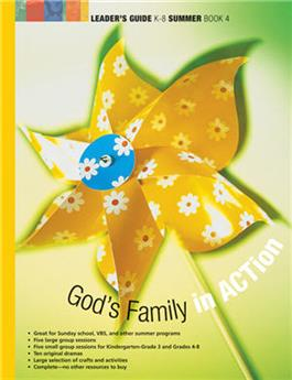 God's Family in ACTion (Summer Book 4)