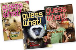 Kid Connection Y1 Q1 Family/Student Magazine (set of 3)