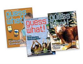 Kid Connection Y1 Q2 Family/Student Magazine (set of 3)