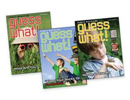 Kid Connection Y3 Q1 Family/Student Magazine (set of 3)