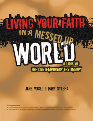 Living Your Faith in a Messed Up World Leader's Guide (Download)