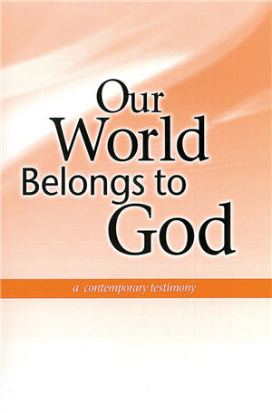Our World Belongs to God