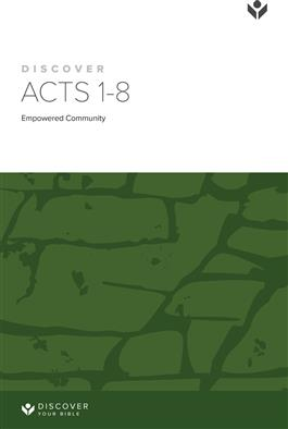 Discover Acts 1-8 Study Guide
