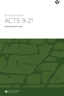 Discover Acts 9-21 Study Guide