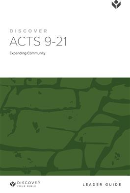 Discover Acts 9-21 Leader Guide