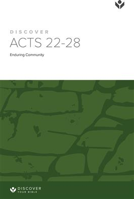 Discover Acts 22-28 Study Guide