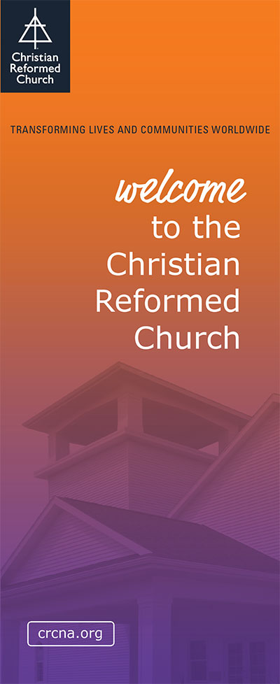 Welcome to the Christian Reformed Church