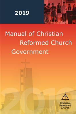 Manual of Christian Reformed Church Government 2017