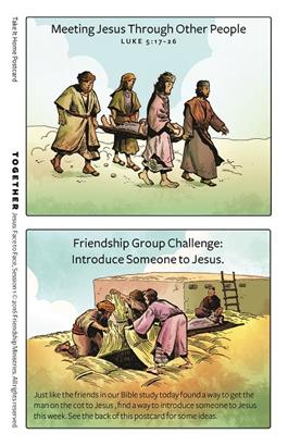 Jesus: Face to Face Friendship Take-It-Homes