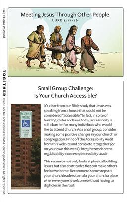 Jesus: Face to Face Inclusive Small Group Take-It-Homes
