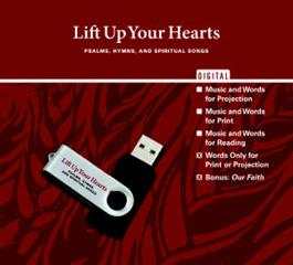 Lift Up Your Hearts Digital Edition - Words Only for Print or Projection
