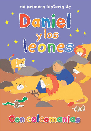 Mi primera historia de Daniel y los leones / MVF Daniel and the Lions Stickerbook (Spanish)