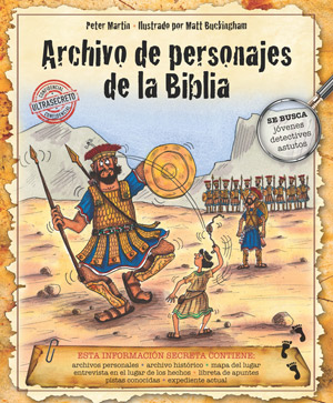 Archivo de personajes de la Biblia / Bible People Factfile (Spanish)