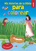 Mis historias de la Biblia para colorear - 1 / My Bible Stories Colouring - 1 (Spanish)