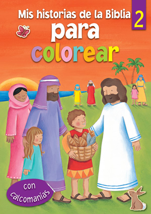 Mis historias de la Biblia para colorear - 2 / My Bible Stories Colouring - 2 (Spanish)