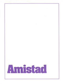 Amistad Paquete Informativo / Amistad Sample Packet (Spanish)
