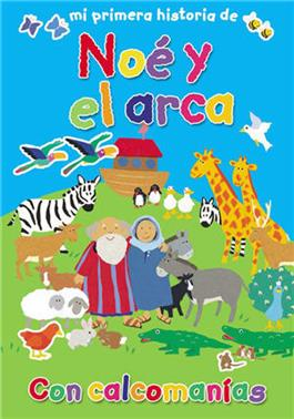 Mi primera historia de Noé y el arca / My First Sticker Book of Noah's Ark (Spanish)