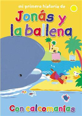 Mi primera historia de Jonás y la ballena / My First Jonah and the Whale Sticker Book (Spanish)