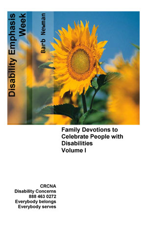 Disability Emphasis Week Devotionals Volume 1