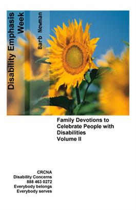 Disability Emphasis Week Devotionals Volume 2