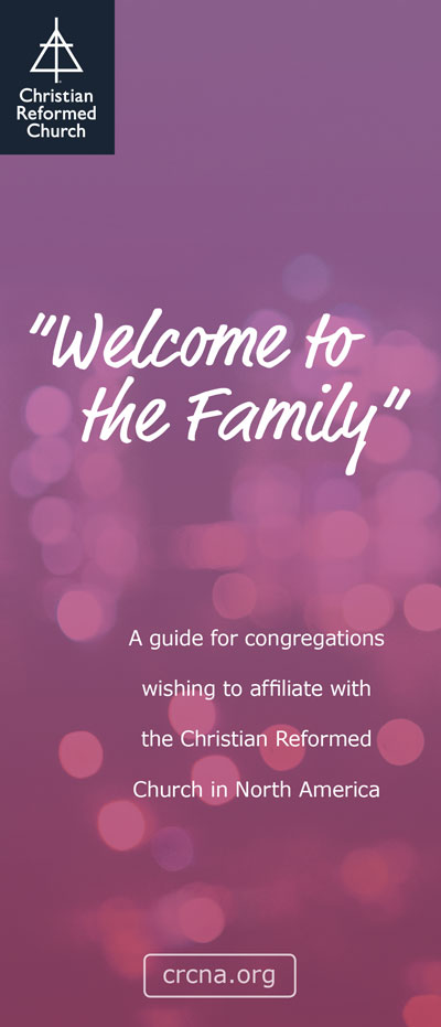 Welcome to the Family Brochure (English)
