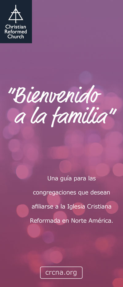 Welcome to the Family Brochure (Spanish)