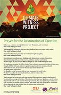 Climate Witness Project Bulletin Insert
