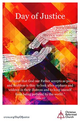 Day of Justice Bulletin Insert (English)