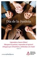 Day of Justice Bulletin Insert (Spanish)