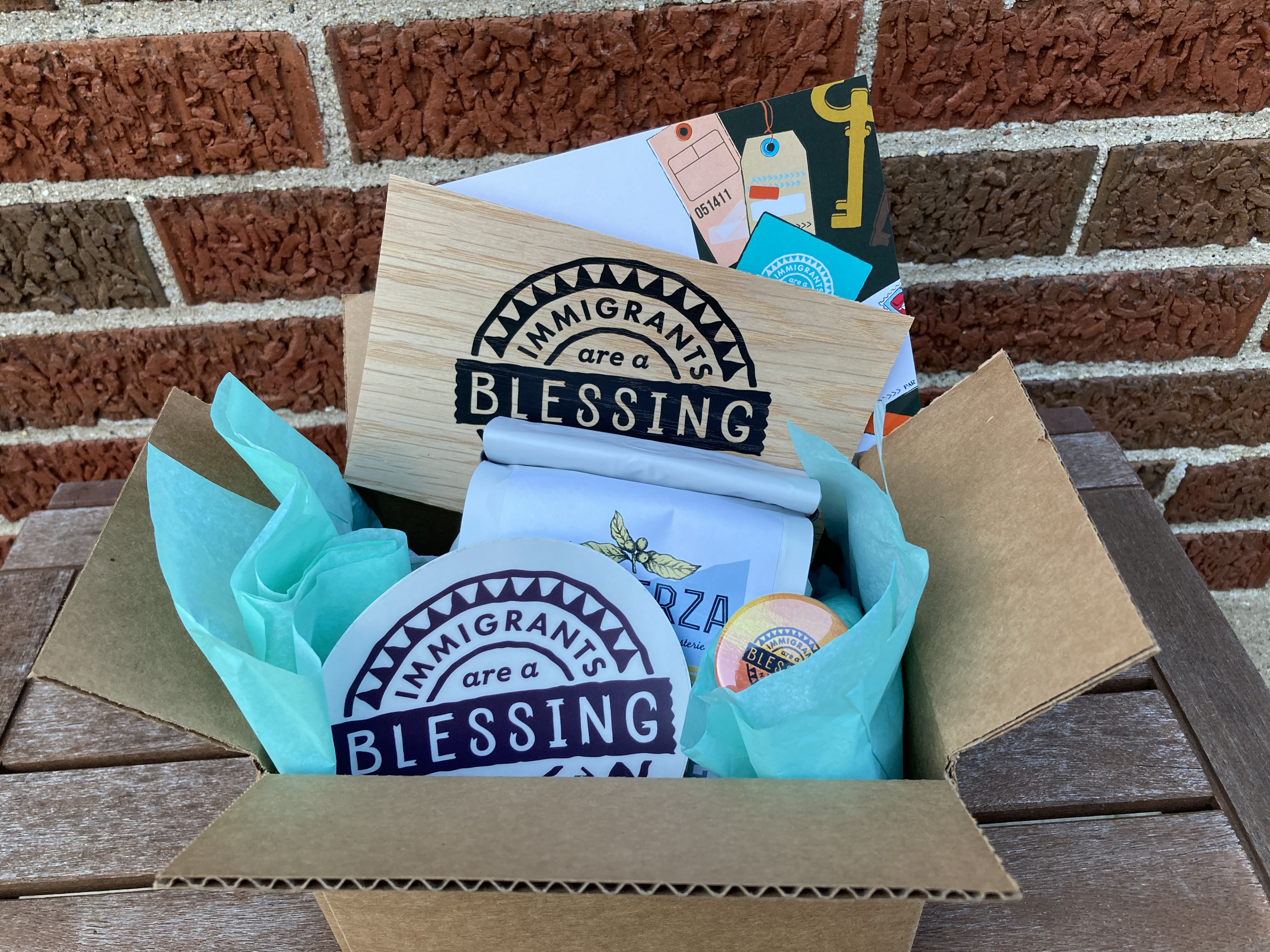 Blessing Not Burden Box