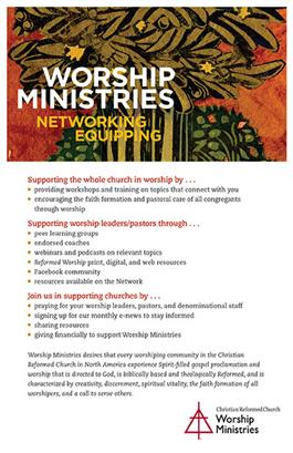 September 29, 2019 - Worship Ministries