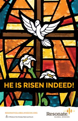 Easter Bulletin Insert - English