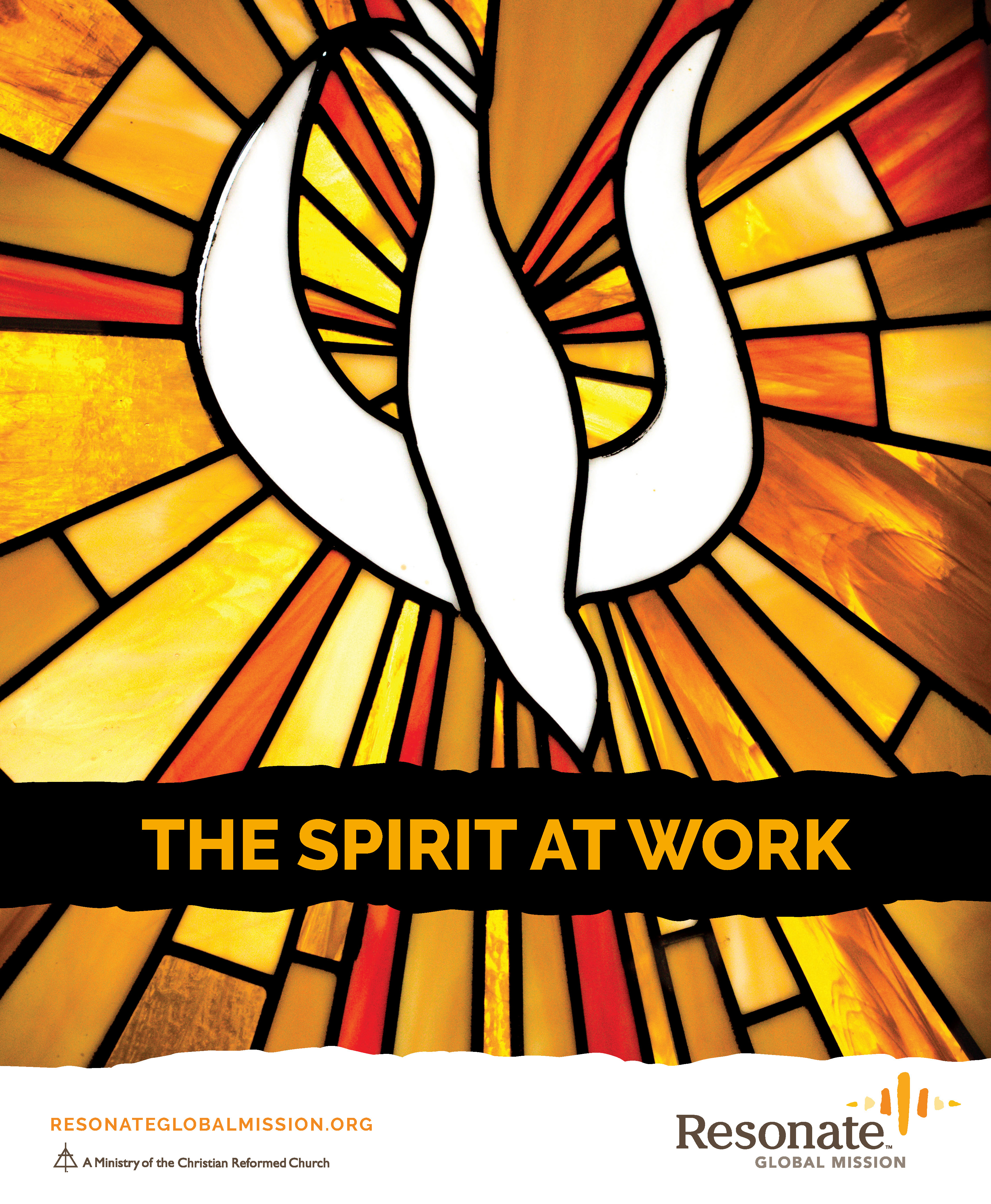 Pentecost Bulletin Cover - English