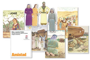 Amistad Juego Entero: Dios, nuestro Padre / Amistad Group Leader's Kit: God Our Father (Spanish)