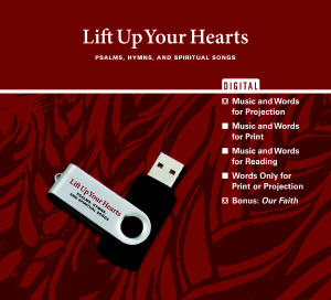 Lift Up Your Hearts Digital Edition - Music and Words for Projection